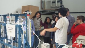 Visit of the CEBB laboratory